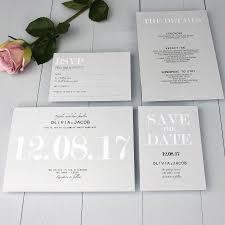 Traditional Wedding Invitation Modern Traditional Wedding Invitation By Beija Flor Studio