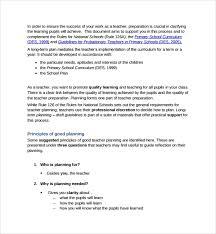 Teacher Curriculum Template Sample Curriculum Planning Template 9 Free Documents In