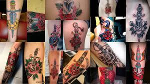 значение тату кинжал и роза клуб татуировки фото тату значения