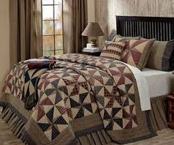 Contemporary Design Country Quilts And Curtains Bold Ideas ... & Contemporary Design Country Quilts And Curtains Bold Ideas Primitive Style  Star Patterned Bedding Adamdwight.com