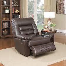 serta big tall memory foam massage recliner faux leather multiple color options com