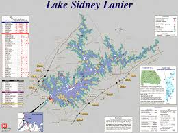 Lake Lanier Maps Parks Beaches Marinas Boat Ramps