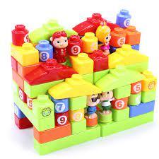 Đồ chơi xếp hình bằng nhựa an toàn 5017 cho bé trên 3 tuổi