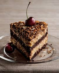 slice of german chocolate cake. Exellent Cake Photo Of The Dark Chocolate Bakery  Dallas TX United States A Slice And Slice Of German Cake A