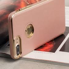 iphone 7 gold. olixar makamae leather-style iphone 7 plus case - rose gold iphone