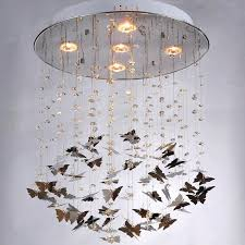 crystal erfly chandelier custom made pristine prism crystal