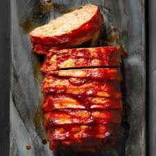 cheesy bacon wrapped meat loaf