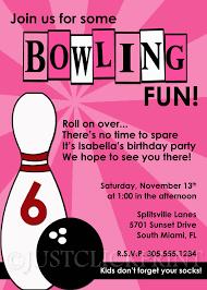 Bowling Party Invitation Bowling Invitation Wording Basketball Birthday Party Invitation