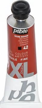<b>Pebeo Краска масляная XL</b> цвет охра красная 37 мл — купить в ...