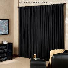 absolute zero eclipse home theater blackout curtain panels absolute zero back tab theater panel to expand