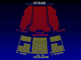 August Wilson Theatre Broadway Seating Chart Jersey Boys
