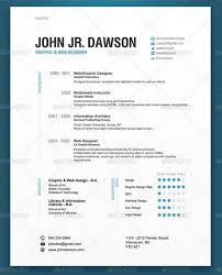 Modern resume template to inspire you how to create a good resume 1
