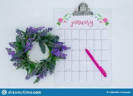 New Light Bright Light And Bright January Calendar Fresh Start For A New
