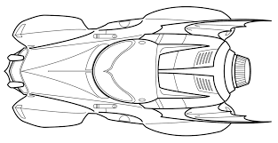 Batmobile Coloring Pages - GetColoringPages.com
