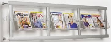 magazine rack wall mount: acrylic magazine rack wall mounted acrylic magazine rack wall mounted suppliers and manufacturers at alibabacom