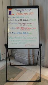 Whiteboard Design Ideas An Easel With Events Written On It In Different  Colors Decoration Synonym