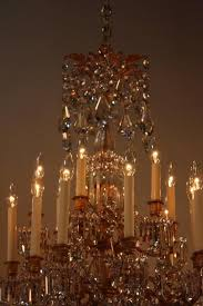 gilt 19th century french crystal and bronze doré chandelier by baccarat for