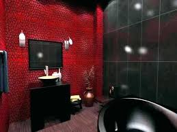 Black White And Red Bathroom Accessories Toilet Black White And Red