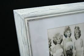 diy making a new frame look old by