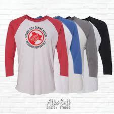 Unisex Shirt Size Chart Color Run Unisex Raglan Triblend Jersey Tee Sccr Color Logo 3 4 Sleeve Baseball Tee