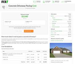 cost to replace a driveway