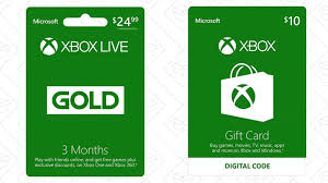 three months of xbox live gold get a 10 xbox gift card