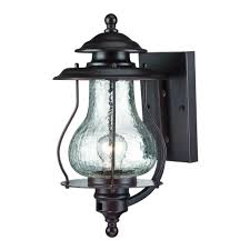 Acclaim Lighting Replacement Glass Acclaim Lighting Blue Ridge Collection 1 Light Architectural Bronze Outdoor Wall Lantern Sconce