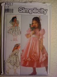 Simplicity Patterns Sale Custom Simplicity 48 Sewing Pattern 48s Toddler Dress Pinafore And