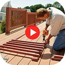 How to build a deck video Ground What Other Items Do Customers Buy After Viewing This Item Amazoncom Amazoncom How To Build Deck Design Step By Step Videos