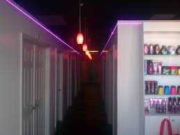 lighting for hallway. hallway lighting fixture with pendant lamps and purple led strip lights full size for