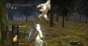 upon defeating it you ll find sieglinde of catarina appears in the spot where it d talk to her to continue siegmeyer of catarina s quest line for more