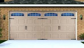 menards garage doorBefore Aftergarage Door Decorative Hardware Magnetic Garage