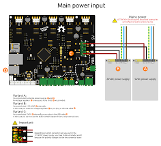 3d printer guide smoothieware by convention black sometimes brown wires are used for ground and red sometimes orange white or yellow wires are used for power connections