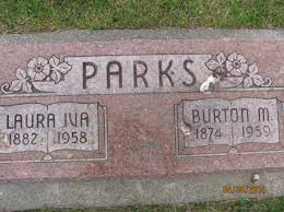 PARKS, LAURA IVA - Saline County, Nebraska | LAURA IVA PARKS - Nebraska  Gravestone Photos