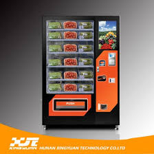Fruit Vending Machine For Sale Interesting China FruitSalad Vending Machine With Elevator Device Spring