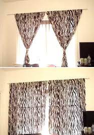 how to hang curtains without making holes in the wall