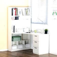 white desk with bookshelf corner desk with shelves above bookcase corner desk with shelf funky home