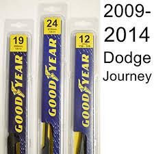 Reflex Wiper Blades Size Chart Amazon Com Dodge Journey 2009 2014 Wiper Blade Kit Set