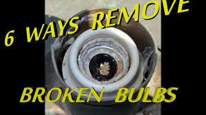 Broken Light Bulb Holder 6 Ways To Remove Broken Light Bulb From Socket