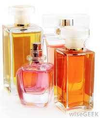 many perfumes conn acetone which is the active ing in mercial polish removers