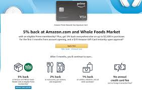 Check spelling or type a new query. New Amazon Chase Visa Credit Card Signup Bonus 70 5 Back On 2 500 In Purchases Doctor Of Credit