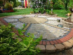 garden pavers designs. small backyard landscaping ideas using pavers gallery garden designs