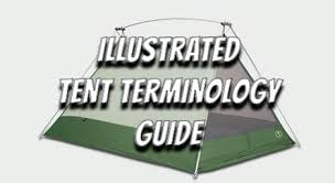 Illustrated Tent Terminology Guide - Section Hikers Backpacking Blog