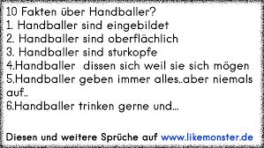 10 Fakten über Handballer1 Handballer Sind Eingebildet2