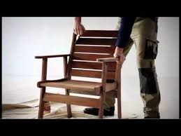 how to re outdoor timber furniture