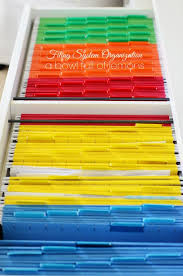 office filing ideas. filing system organization color coordinated a bowl full of lemons office ideas n