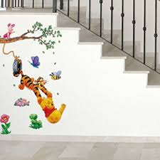 wall decals for kids rooms boys skateboard winnie