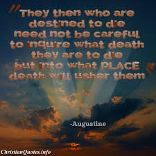 Christian Quotes On Death