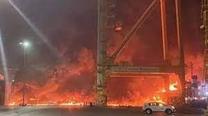 شرطة دبي تكشف تفاصيل جديدة بشأن انفجار ميناء «جبل علي»