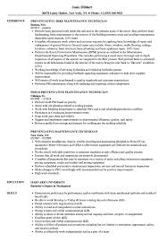 resume technician maintenance preventative maintenance technician resume samples velvet jobs